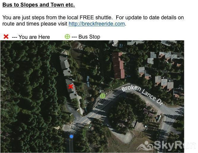 Trappeur 3 Property is just steps from the free shuttle stop