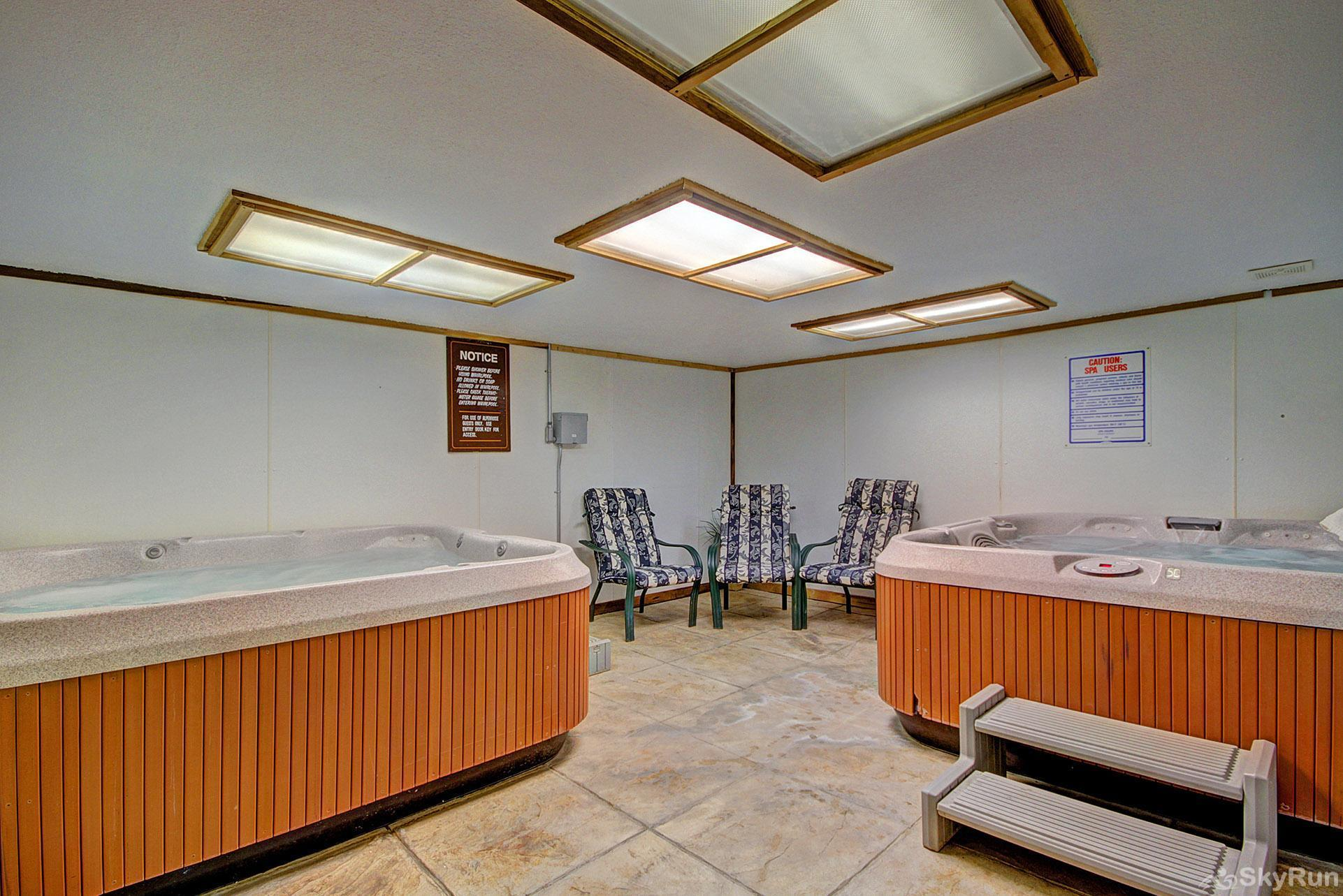 Alpenrose 303 Indoor shared hot tubs