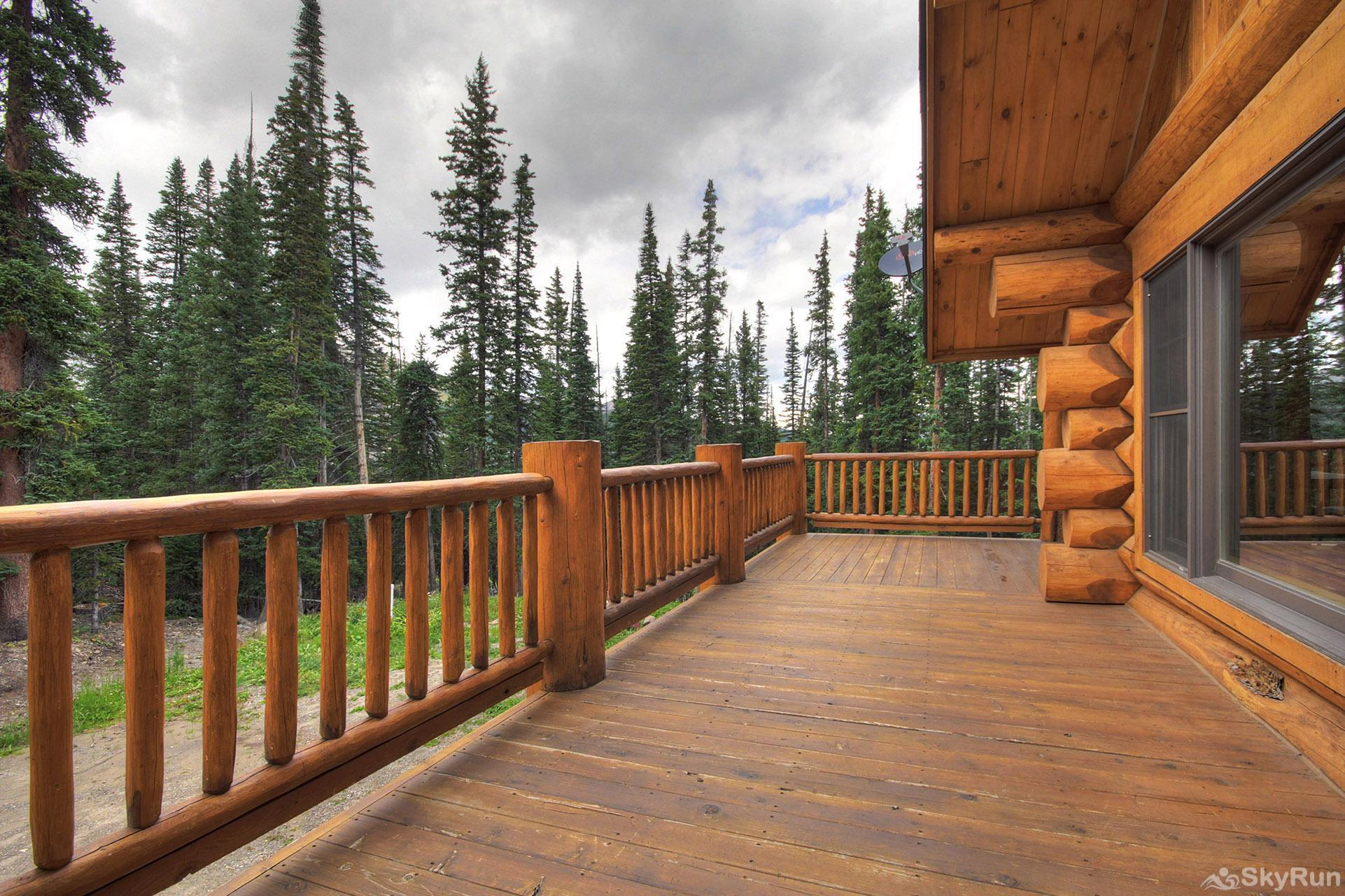 Timber Ridge Lodge Nice large deck