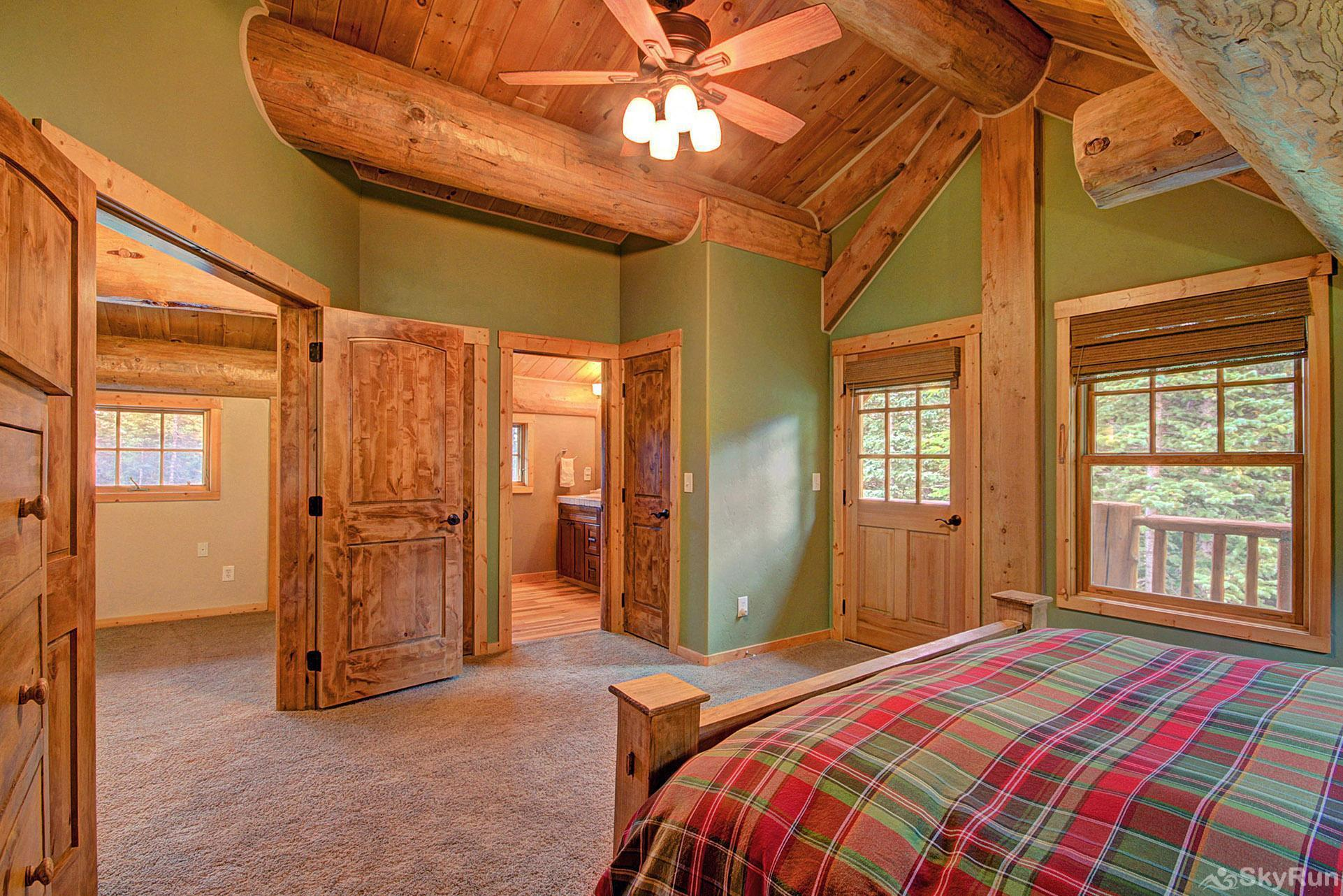 Timber Ridge Lodge Vaulted ceilings and natural light