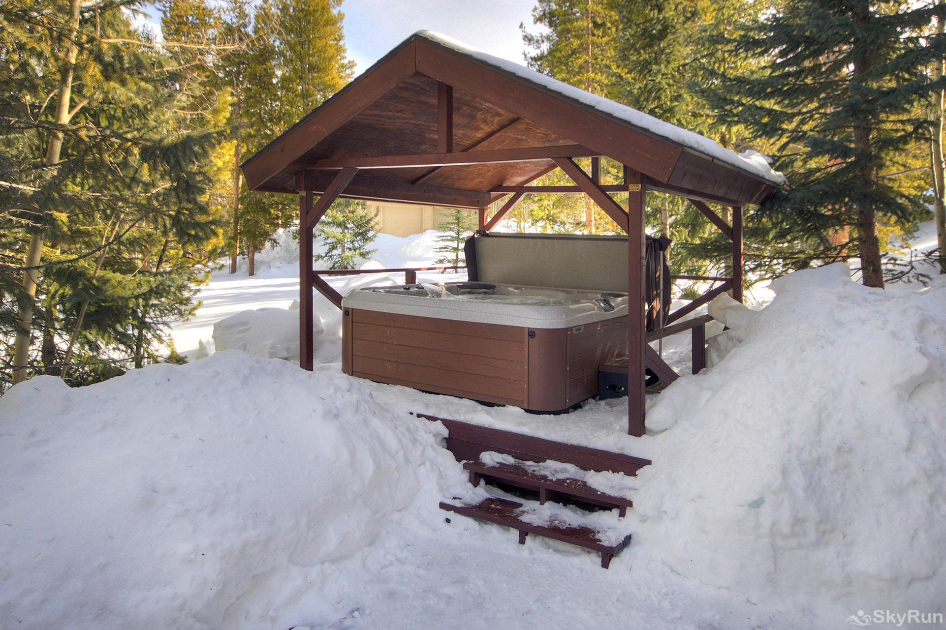 Gold King Lodge Private Covered Outdoor Hot Tub