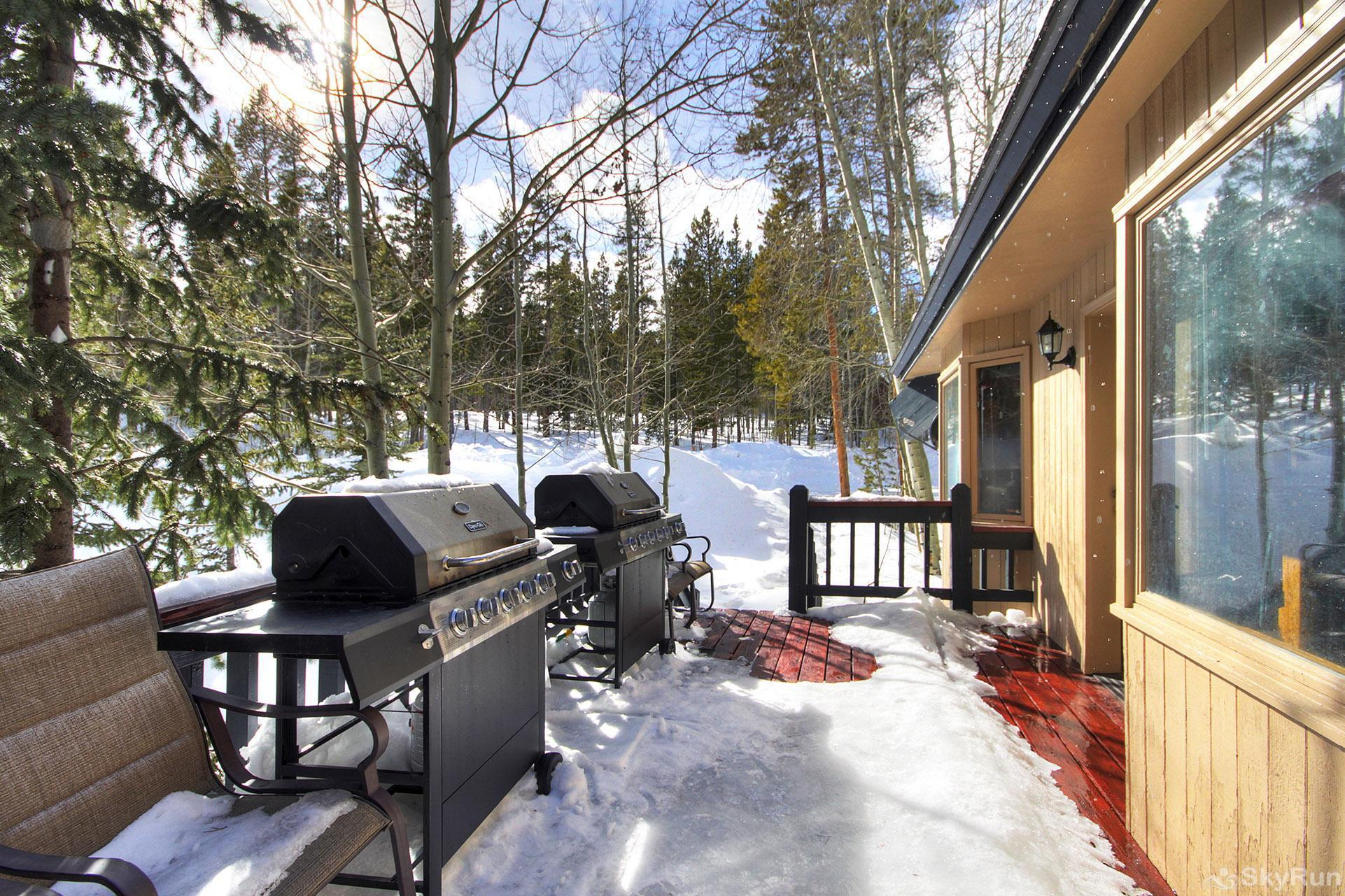 Gold King Lodge Deck with 2 Propane BBQs