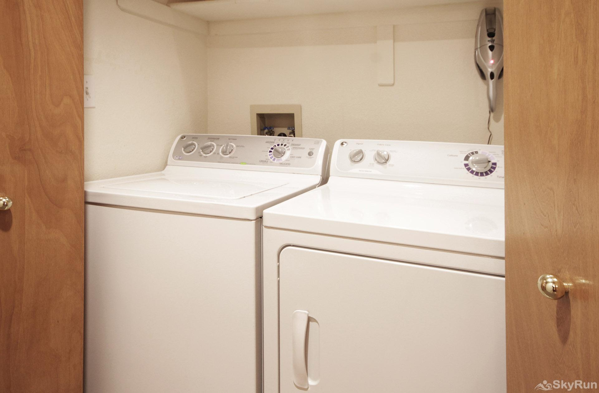Village Point 303 Private in-home washer and dryer