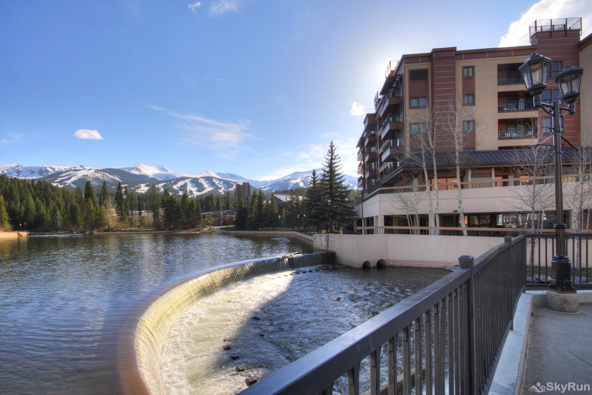 Village at Breck Antero 1503 Gorgeous view overlooking Breckenridge Ski Resort and Maggie Pond