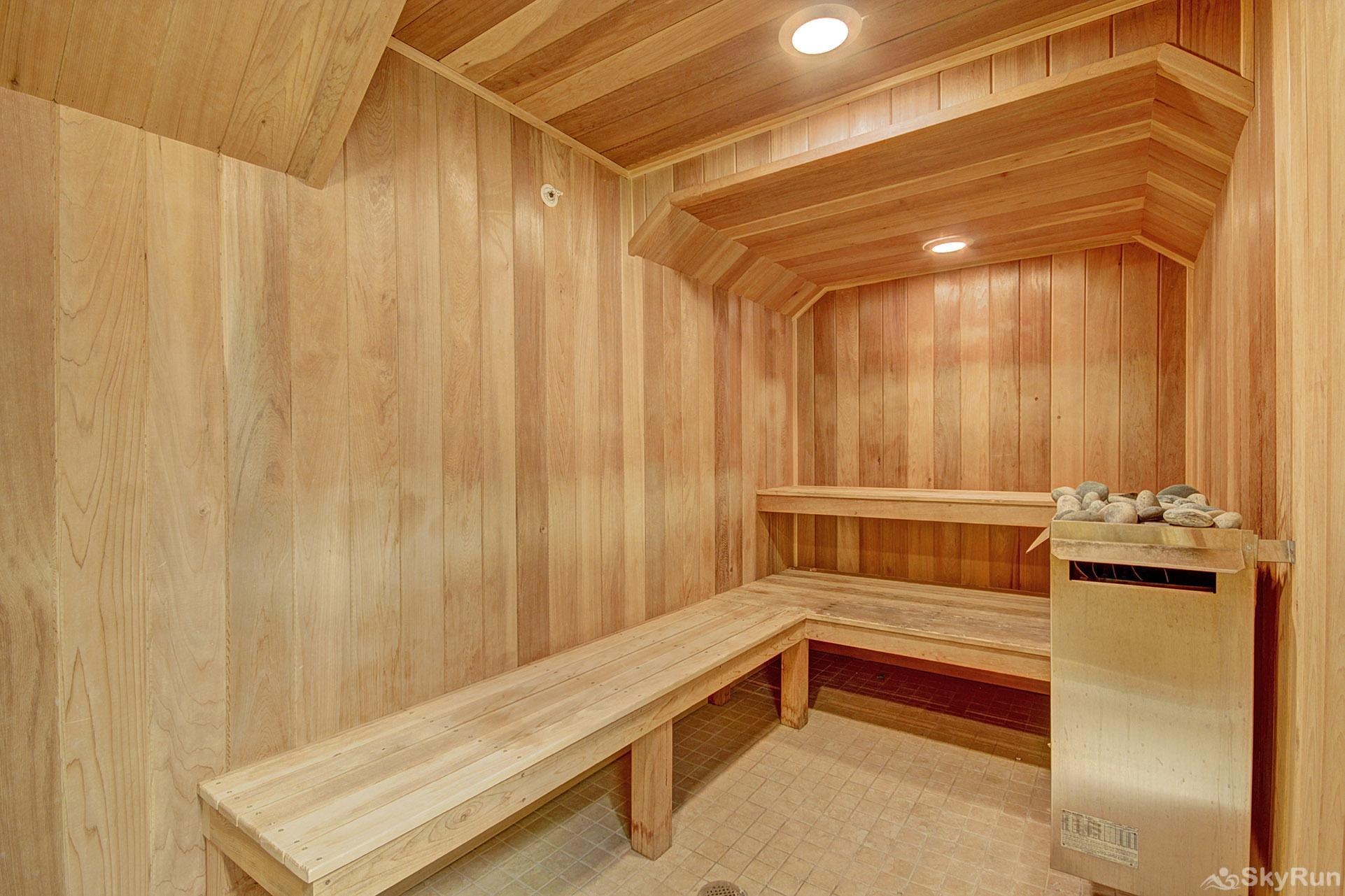 Highland Greens Lodge 211 Relax and unwind in the on-site sauna
