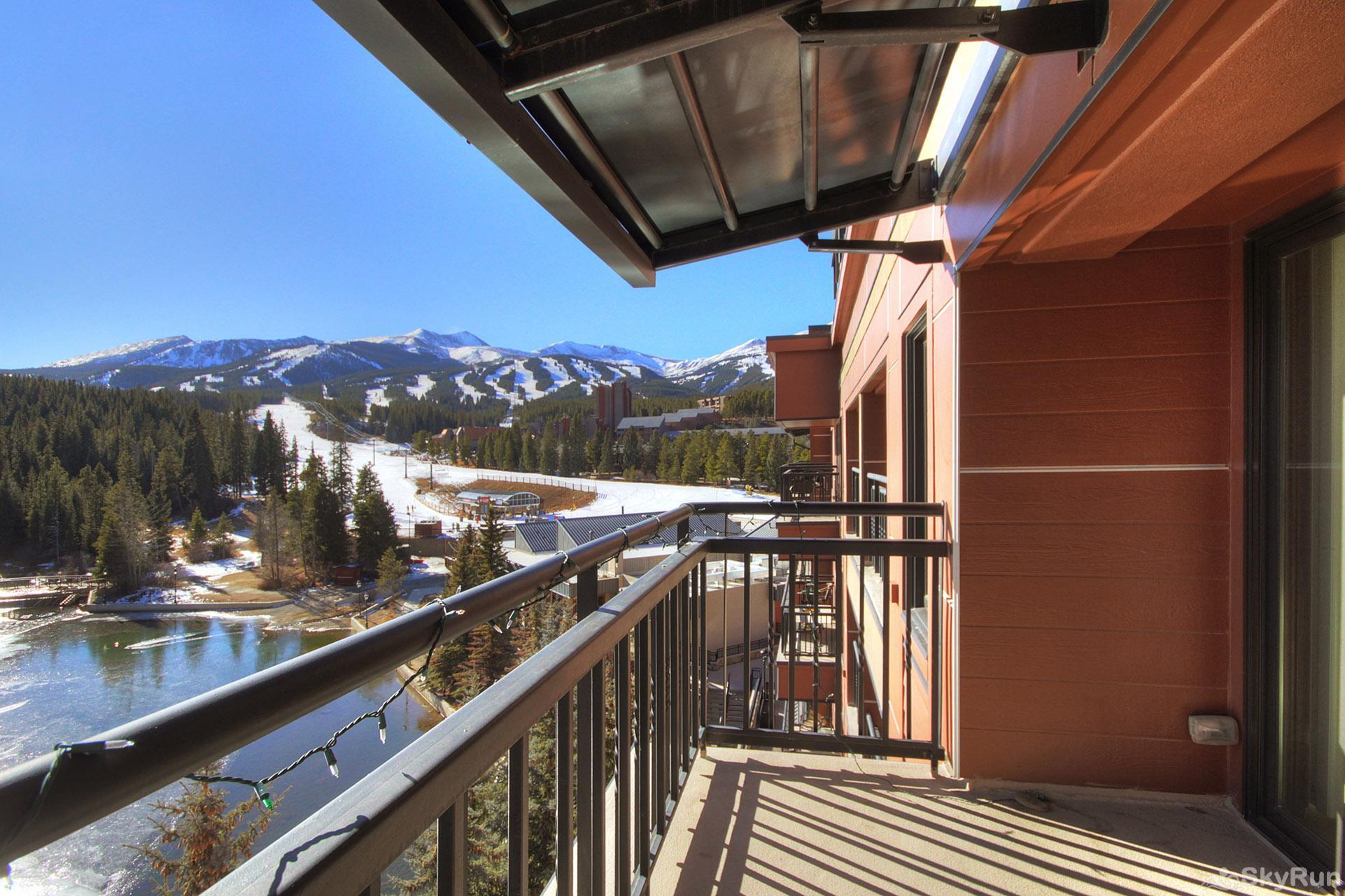 Village at Breck Antero 1503 Enjoy incredible scenic views from your private balcony