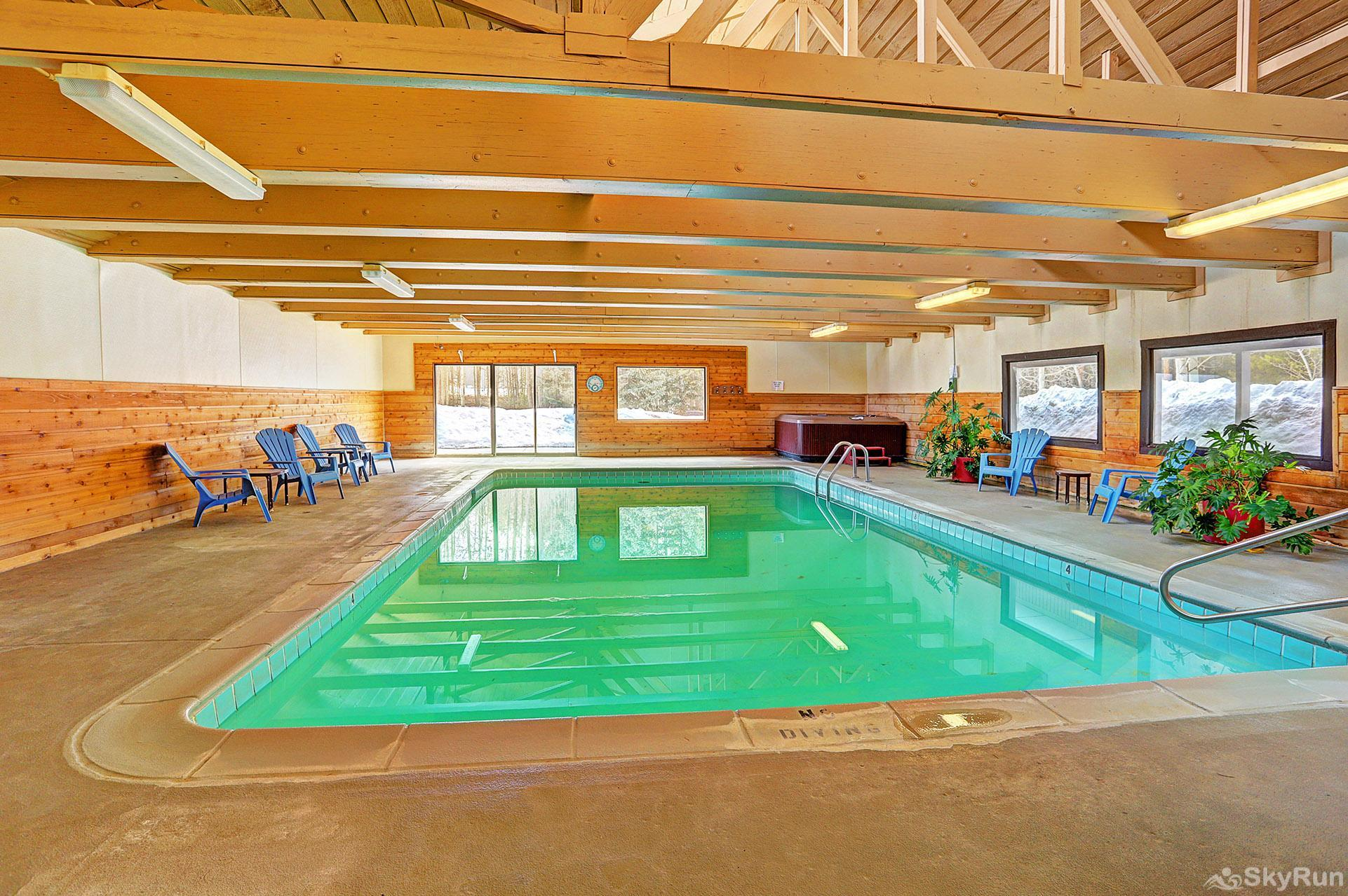 Ski and Racquet Club B106 Community pool and hot tub in the clubhouse