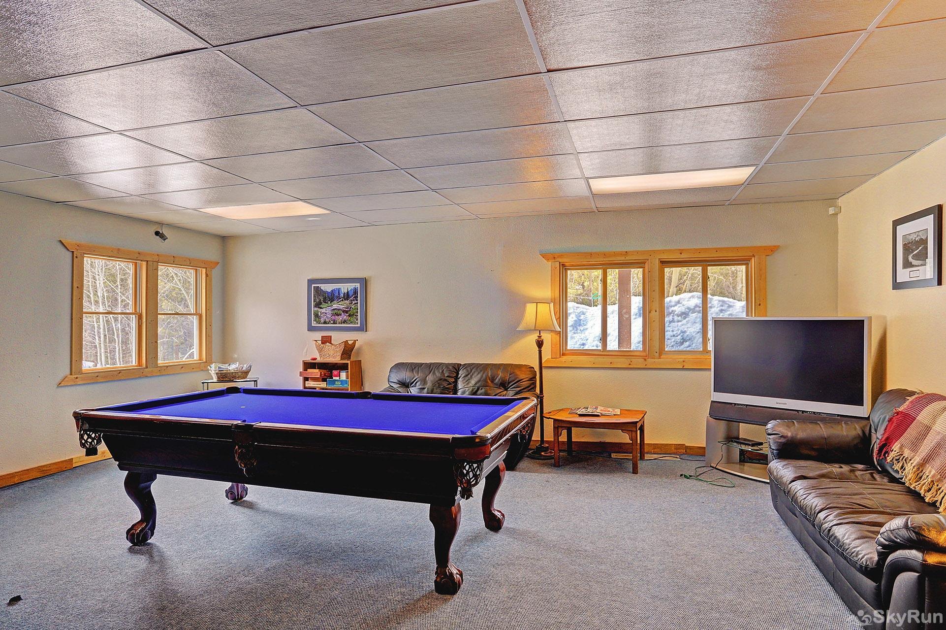 Ski and Racquet Club B106 Pool table available in the clubhouse