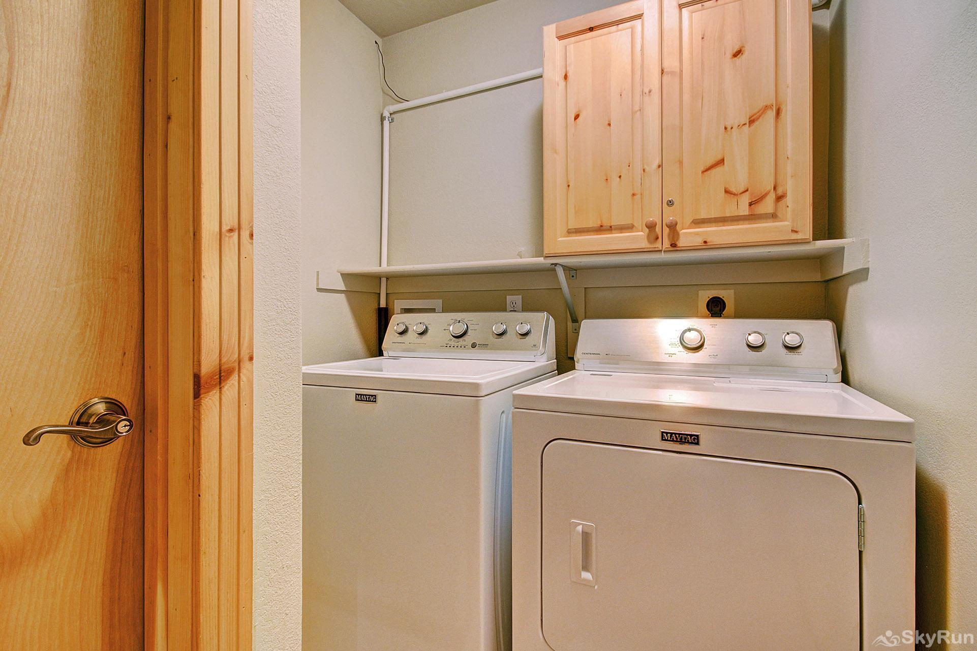 Elk Ridge Retreat Private in home washer and dryer