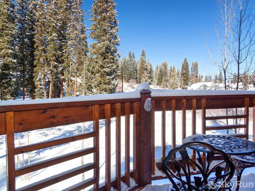 Tyra Summit A2A Private porch perfect for those sunny blue bird days!