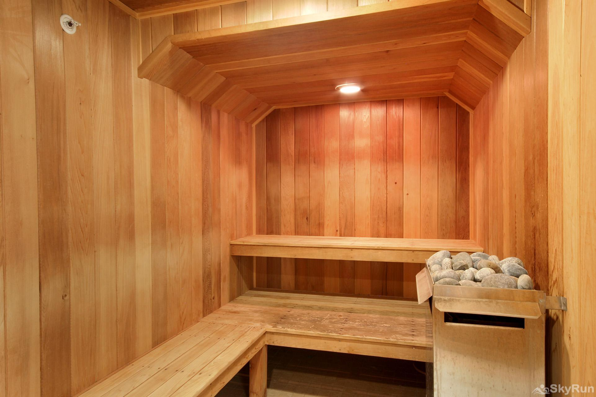Highland Greens Lodge 305 Guest access to dry sauna