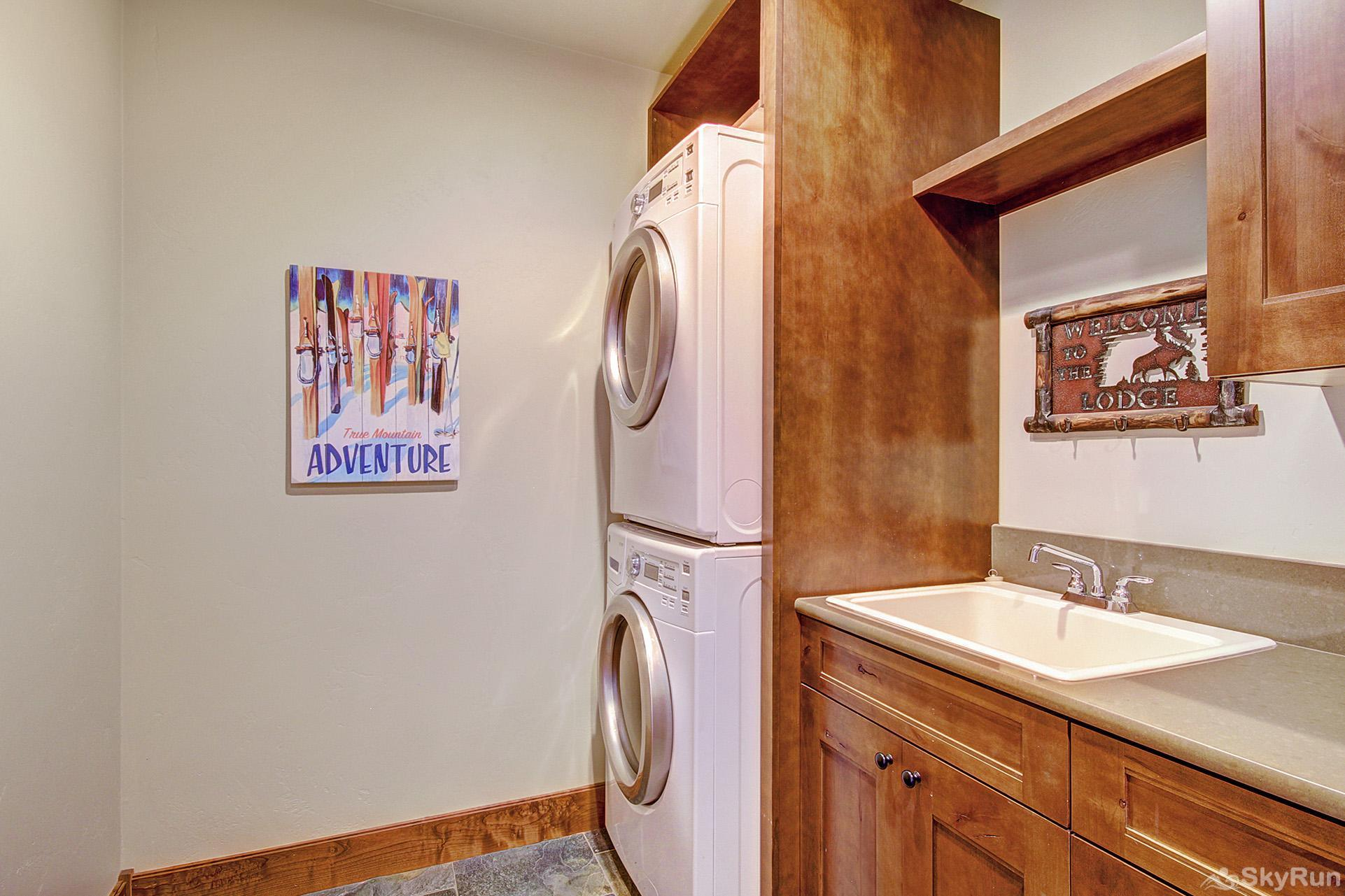 The Shores Lodge Convenient in-home washer and dryer