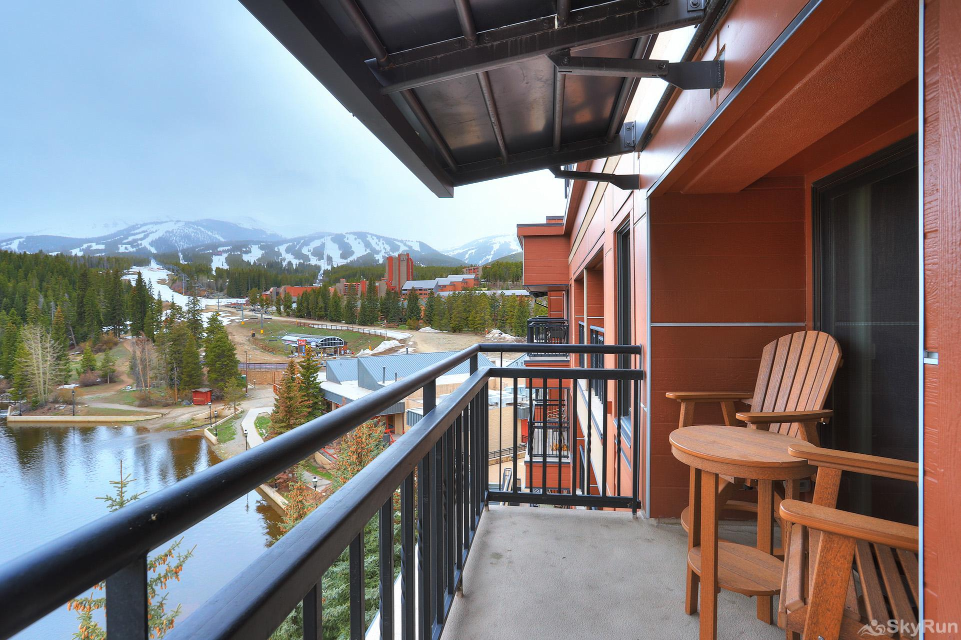 Village at Breck Antero 1503 Enjoy resort views overlooking the Maggie Pond
