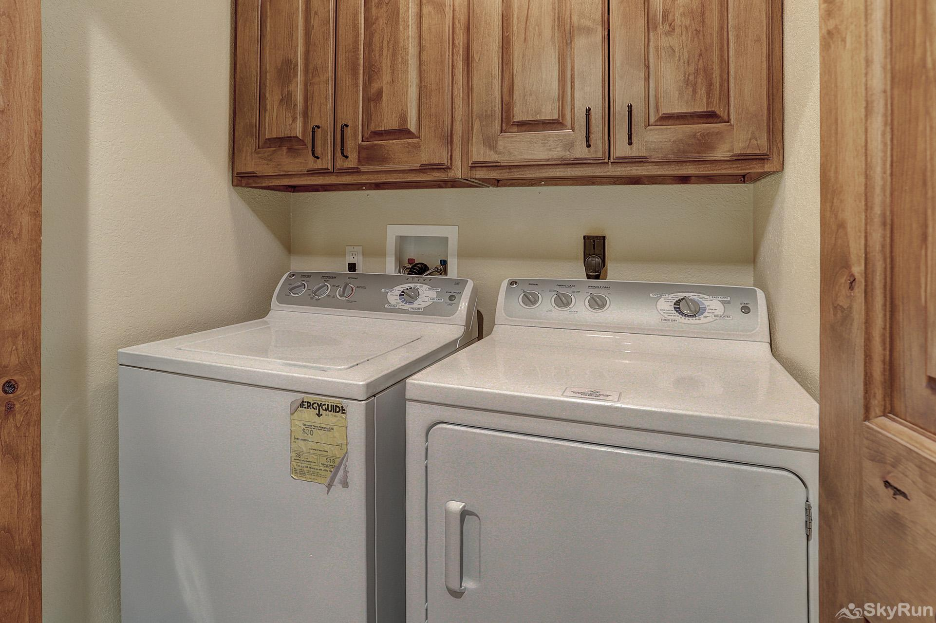 Happy Trails Convenient in-home washer and dryer
