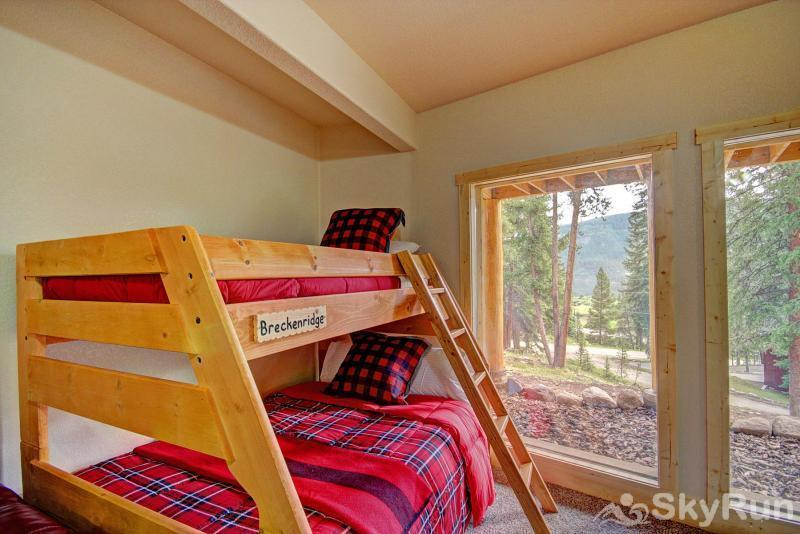 Grand Moose Lodge Bunk Beds in Game Room - Bottom Floor