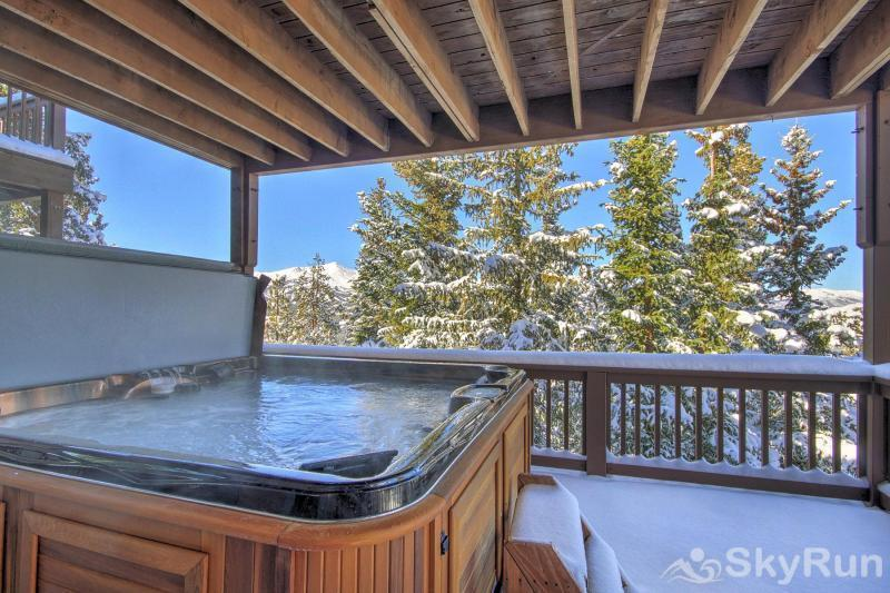 Big View Lodge Enjoy your mountain views while relaxing in the hot tub