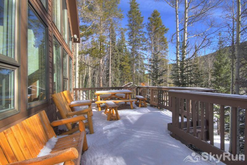 Aspen House Front Porch