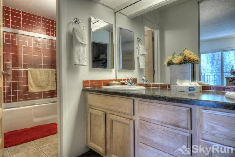 Powderhorn C201 Master Bath w/ double sinks and separate shower/tub/toilet