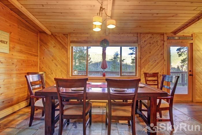 Gasthaus Breck Enjoy beautiful scenic views right from your dining room table