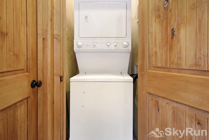 Lodgepole Chalet Private in-home washer and dryer