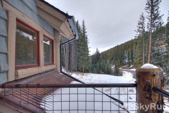 Lodgepole Chalet Take in the scenic forest views from your private deck