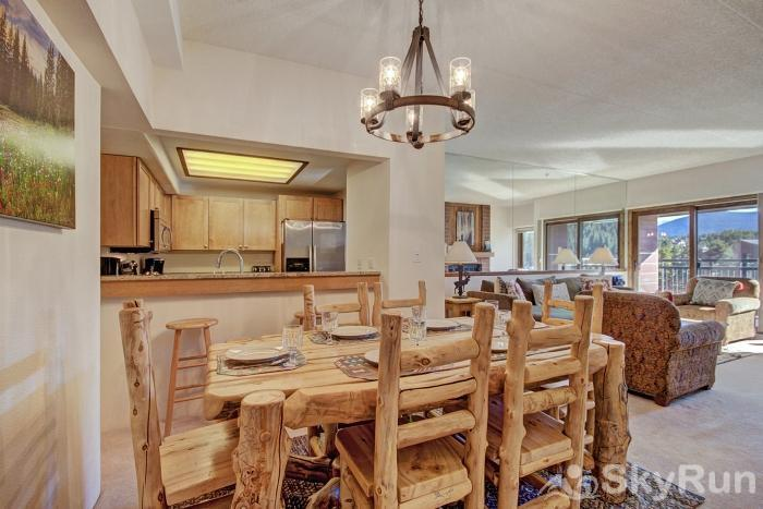 Village at Breck Antero 1503 Dining area with seating for 6