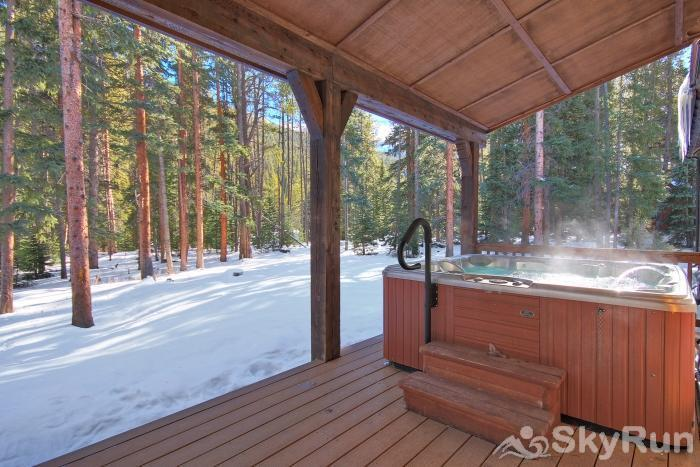 Red Mountain Lodge Relax in your private outdoor hot tub!