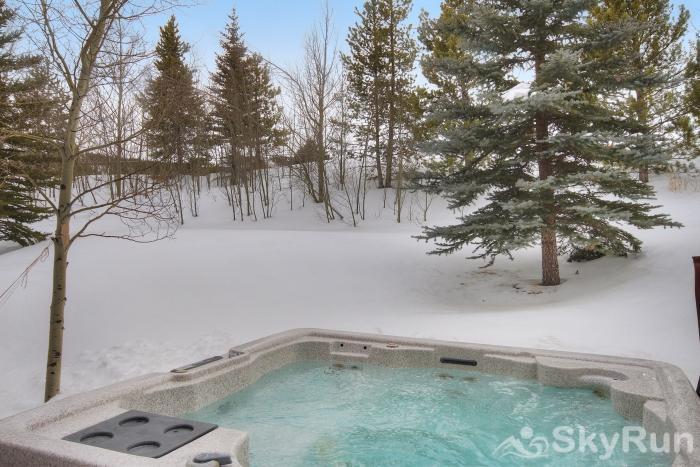 Highland Greens Pine Relax after a day of skiing in your private outdoor hot tub