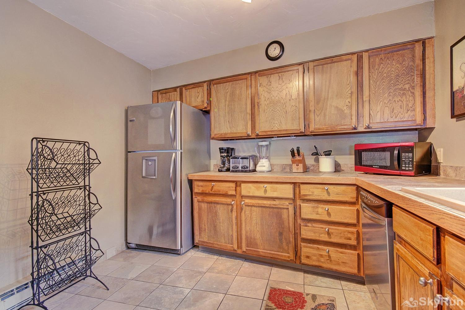 Sundowner II 201 Alternate view of fully equipped kitchen