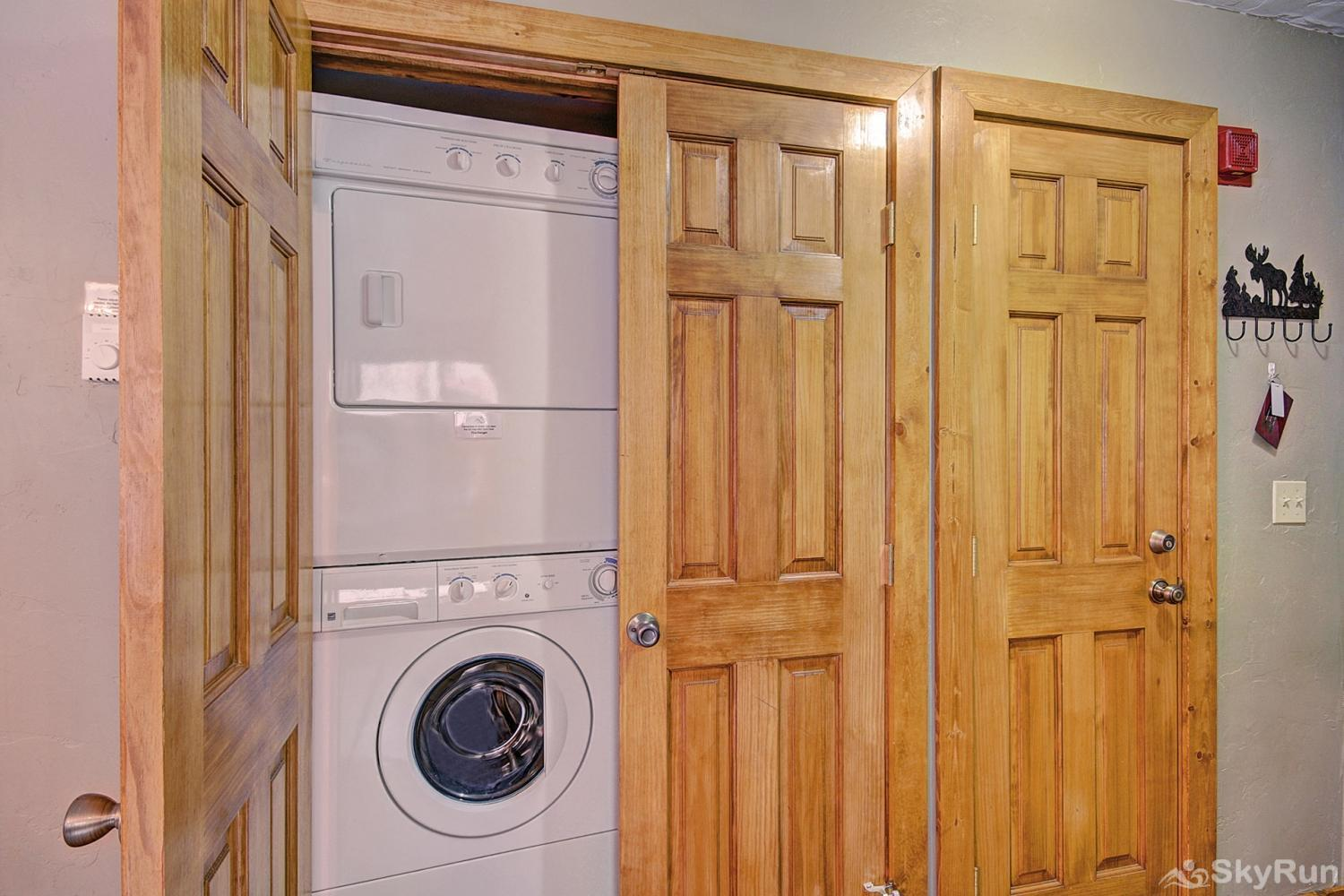 Sundowner II 201 Private in home washer and dryer