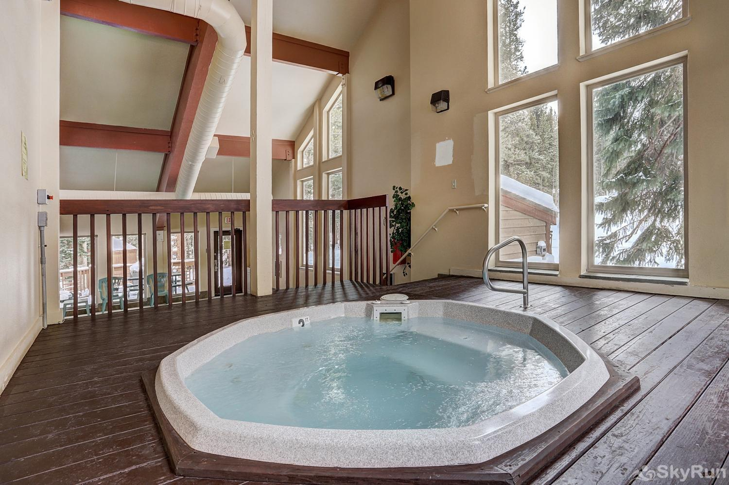 Tyra Summit A2E/F Additional hot tub indoors