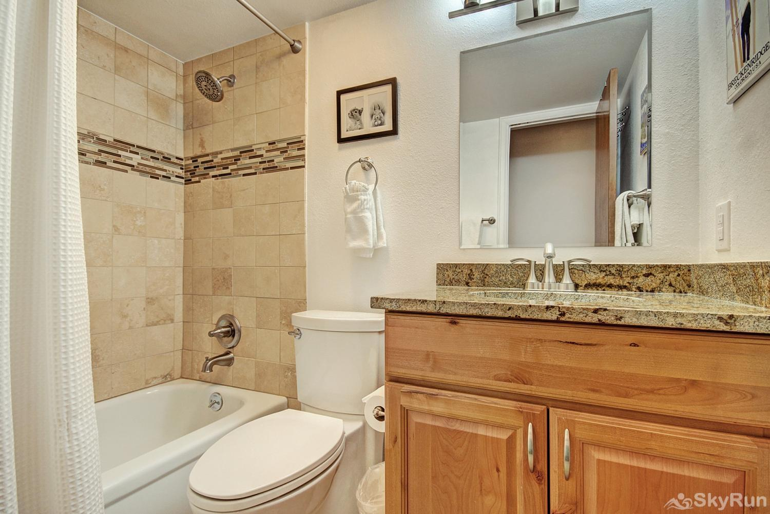 Tyra Summit A2E Shared full bathroom with shower/tub combo
