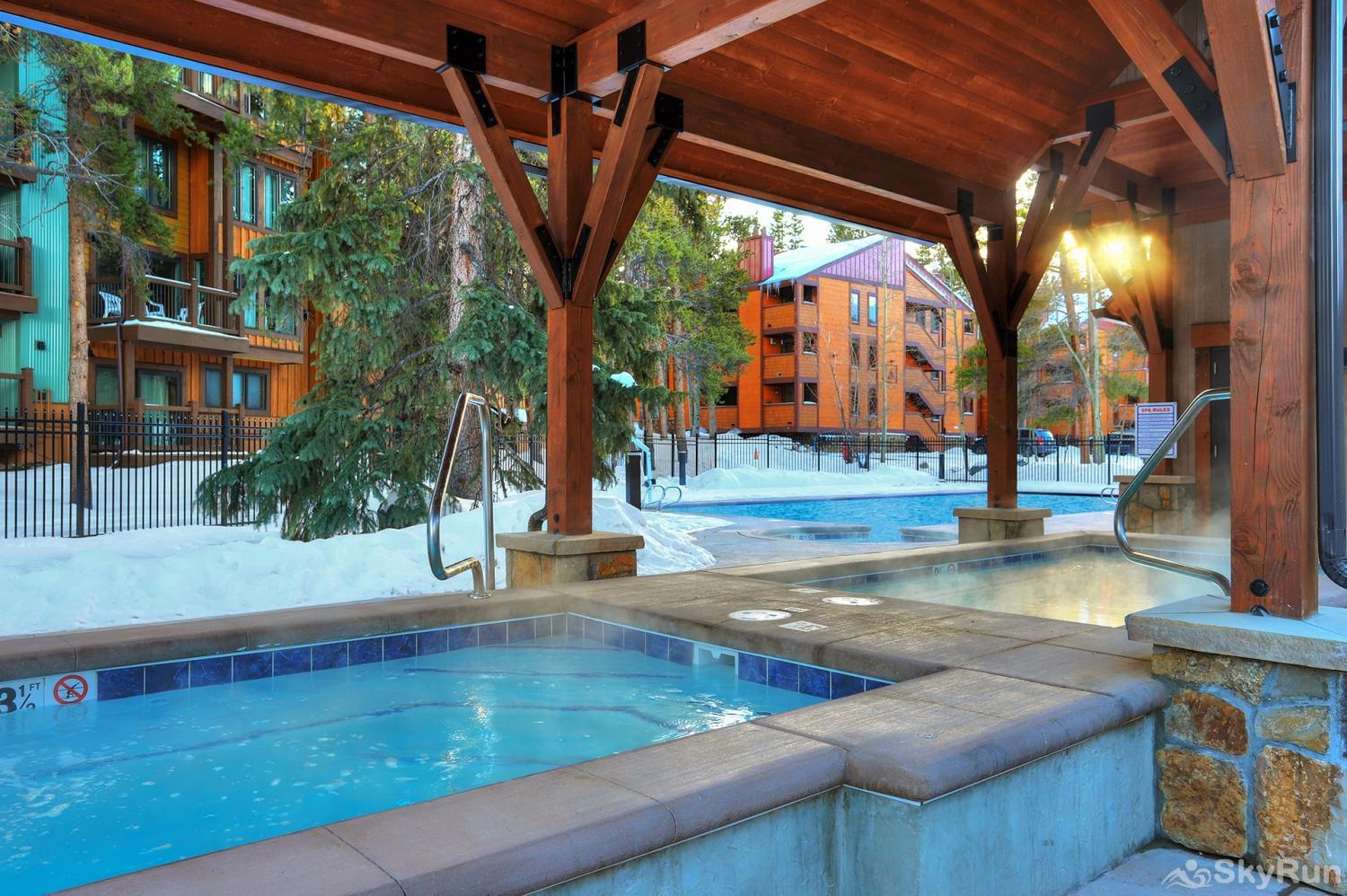 Lances West 13 Guests enjoy access to the Columbine Pool & Hot Tub Complex