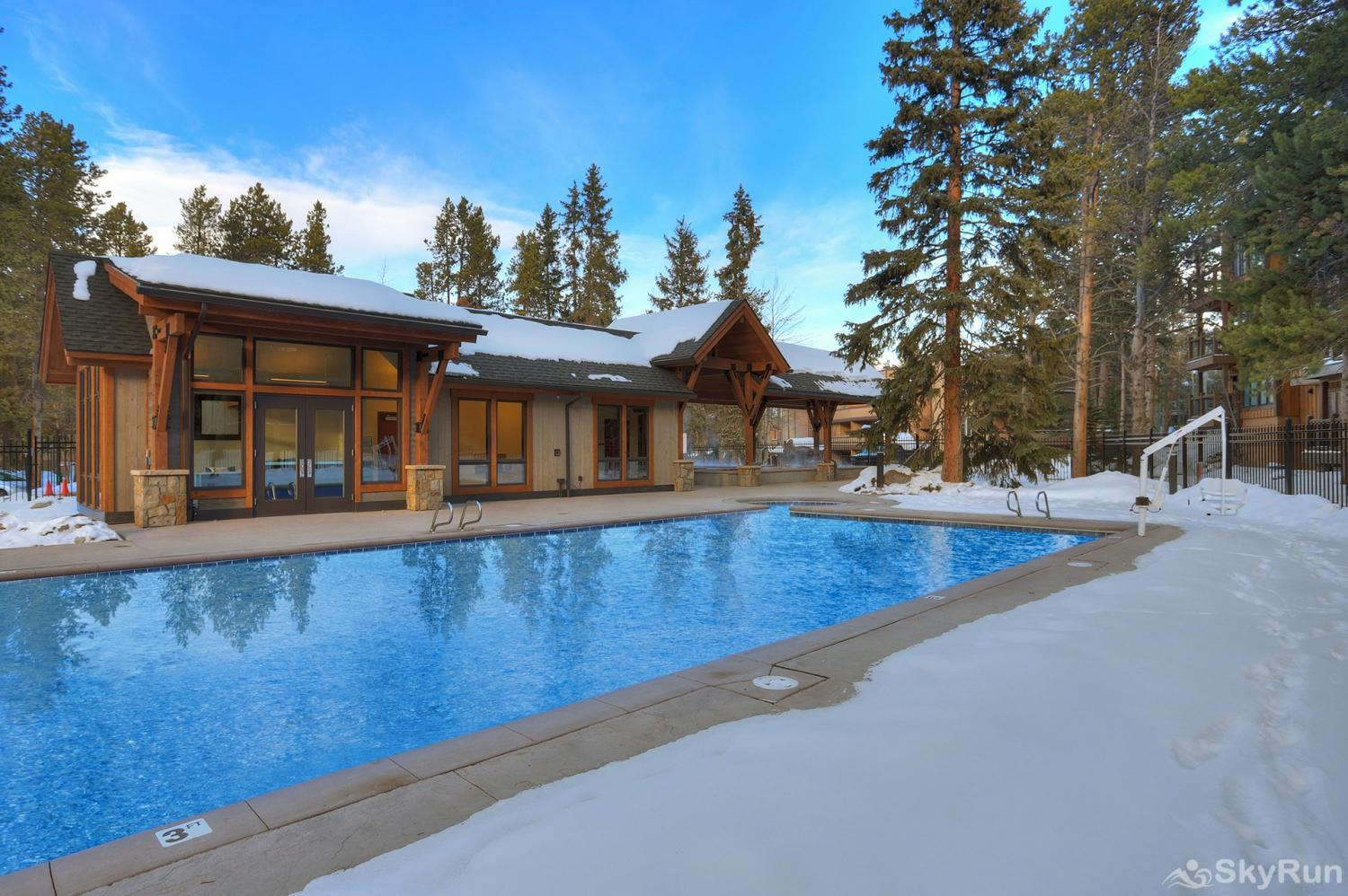Lances West 13 Additional view of outdoor heated pool