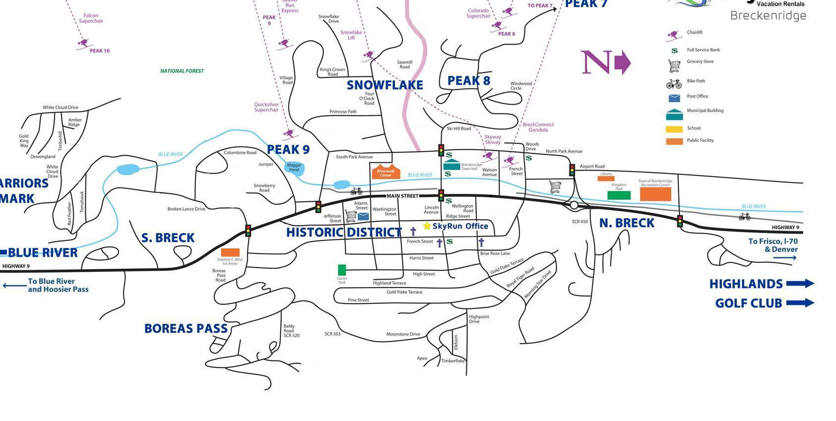 breckenridge resort map. breckenridge map